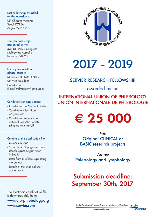 Servier Research Fellowship